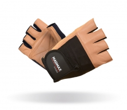 MADMAX Fitness rukavice FITNESS BROWN