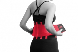 MADMAX Slimming Belt red