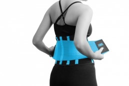 MADMAX Slimming Belt cyan