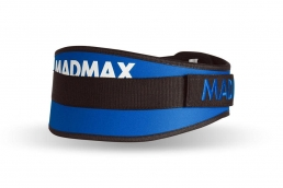 MADMAX Fitness opasek SIMPLY THE BEST blue